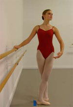 How to stand at the barre