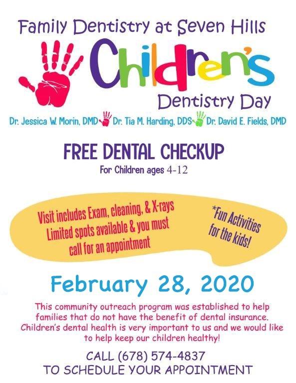 Dental services flyer