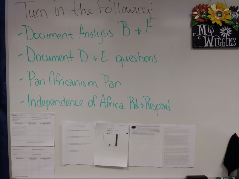 Africa History Assignments