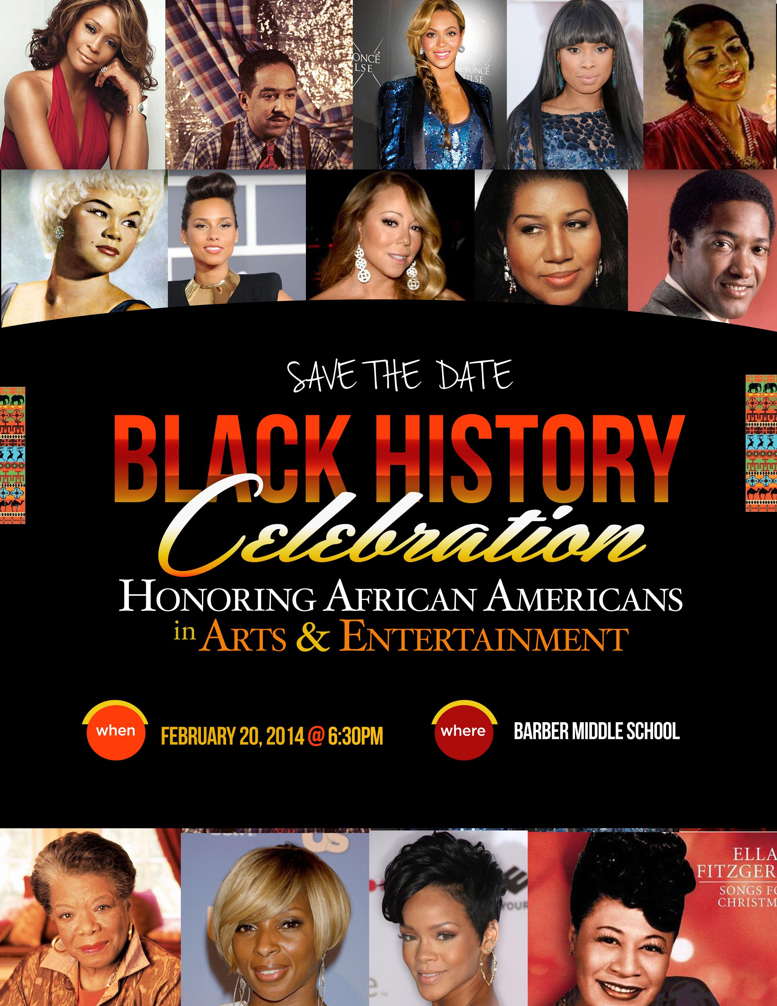 black history flyer